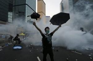 雨傘運動近2週年 港生:想留在看得到未來的台灣