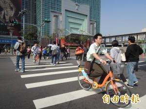 Youbike橫行霸道 2年來違規停權卻僅22件