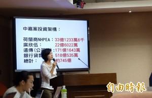 中嘉案 葉宜津:投審會無作為!