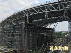 旅客注意!台中鐵路高架施工影響 台鐵列車10月異動