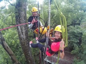消防員攀20米樹求婚 女友感動Say Yes