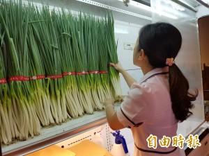 三星蔥價又飆漲 蔥農庫存這週僅剩兩公噸