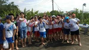 災損農園機會教育 學童體會農民辛苦