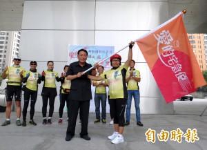 新住民抗癌有成 單車快遞台灣愛心