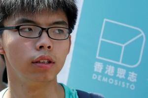 香港社運人士黃之鋒在泰國被拘留 可能被遣返