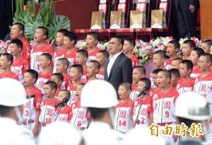 陳金鋒領唱國歌 蘇嘉全:全國人民都是中華民國台灣隊