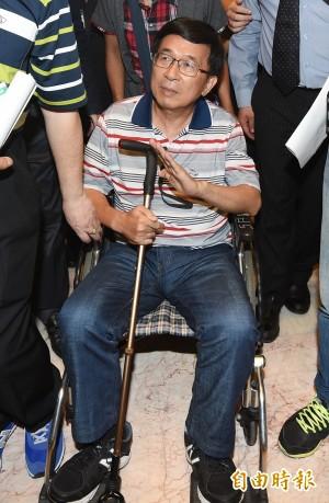 陳水扁無法出席國慶大典 陳明文:希望他明年能來