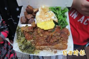 經國學院50元自助餐 得獎滷肉飯吃到飽