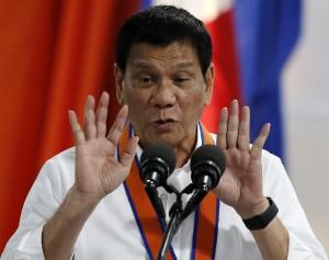 杜特蒂舔中沒用 菲人對中國信任指數超難看