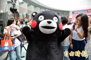 熊本熊高雄開咖啡店 花媽肖像助熊本重建