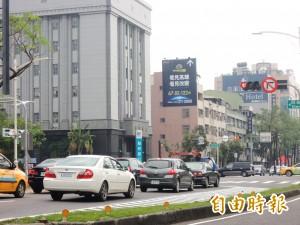 事故比率高得嚇人 高市中華四路禁快車道右轉