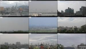 PM2.5偏高!中南部縣市全達紅色警戒