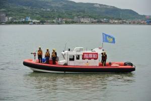 守護「藍色公路」 消防局打造首艘河域救援專用船
