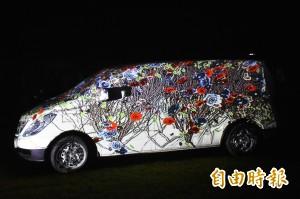 3D行動光雕車魔幻啟航 看見六龜山城之美