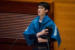稱中國為「支那」 港議員來台參與講座