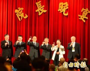 林全宴請全球僑委 盼攜手努力讓台灣克服挑戰