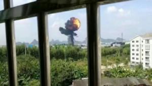 中國殲式轟炸機傳墜毀爆炸 近1個月來第2起