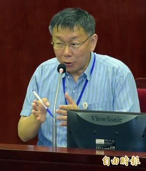 台北農產傳人事惡鬥 柯文哲:不應影響菜價