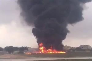 載有歐盟官員飛機在馬爾他墜毀 至少5死