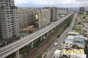 台中鐵路高架通車 沿線居民投訴噪音過大