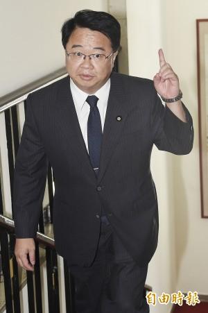 柯建銘辦公室遭闖入 民進黨團嚴正譴責