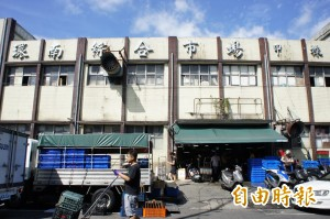 環南市場改建週日開工 市府承諾營運不中斷