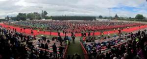 超壯觀!紐西蘭7千學童跳哈卡舞 創世界紀錄