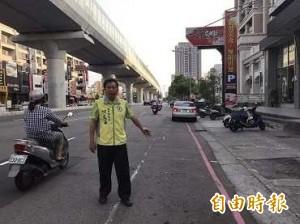 台中捷運圍籬拆除 文心路將恢復路邊停車