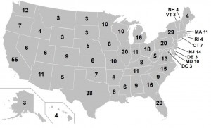 美國總統大選制度 538名選舉人決勝負