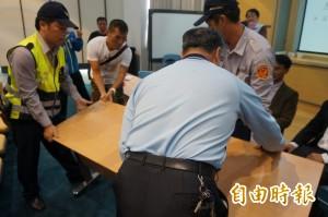 日本食品輸台公聽會台南場爆衝突 警方介入偵辦