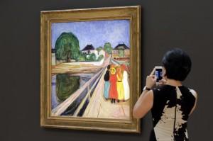 孟克第2高價畫作 17億「少女」僅次「吶喊」