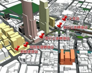 「台中大車站計畫」獲內政部通過