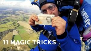 Magic!魔術師無極限 玩高空跳傘還能變魔術