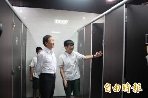全國國中首間性別友善廁所 陳景峻:城市進步的象徵