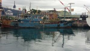 中國漁船越界捕魚 「壽星」船長等15人被逮