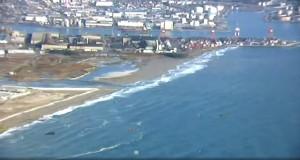 福島強震規模上修7.4 仙台出現1.4公尺海嘯