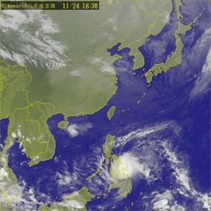 菲律賓海面形成熱低壓 不排除發展成颱風