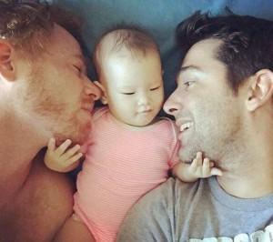 洋蔥文「我的同性戀爸爸」 三萬人眼角失守