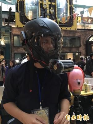 機車族有福了! 全罩式安全帽也能濾淨PM2.5