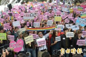 同婚立專法 醫師:就是逼台灣叫「中華台北」