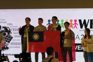 勇奪機器人世界冠軍  ITC團隊返校受歡迎