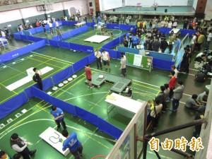 亞洲機器人競技大賽 135支隊伍虎科大開戰