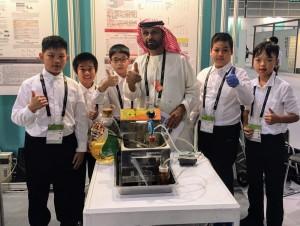 小學生研發油品檢測系統 獲跨國餐廳簽約合作
