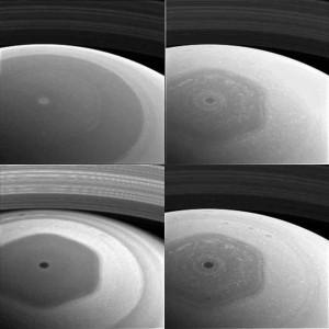 NASA卡西尼探測器 首度公布土星環照片
