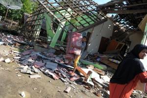 印尼亞齊6.5強震第4天 至少4.5萬人無家可歸