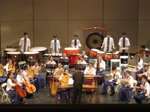 前峰國中國樂團12連霸 團員從零開始學樂器看譜
