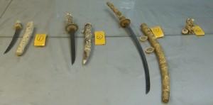 旅客入境走私4件象牙雕刻品 移送航警局偵辦