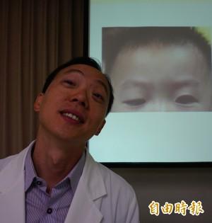 眼皮下垂如加菲貓 男童弱視僅0.1視力