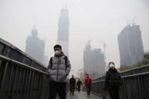 北京擬將「霾」列自然災害 專家:荒唐!