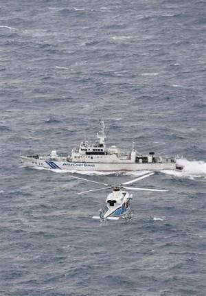 日漁船拖曳途中翻覆   1死8失蹤